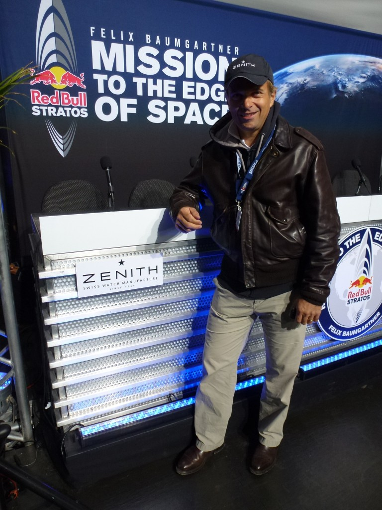 www.watch insider.com | reportages interviews  | Red Bull Stratos Project & Zenith. Interview with Zenith CEO Jean Frdric Dufour | P1010742 e1349785175121 768x1024