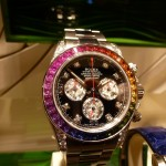 Even this exclusive Rolex Rainbow Daytona