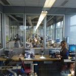... the picture shows you a department at Manufacture Roger Dubuis that is only in charge to individually finishing and decorating components by hand ...