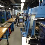 ... industrial production with CNC-machines ...