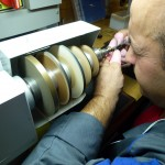 ... the mirror polishing of tiny components ...
