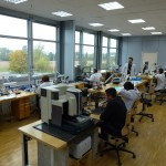 ... the in-house department where the watch escapement is produced ...