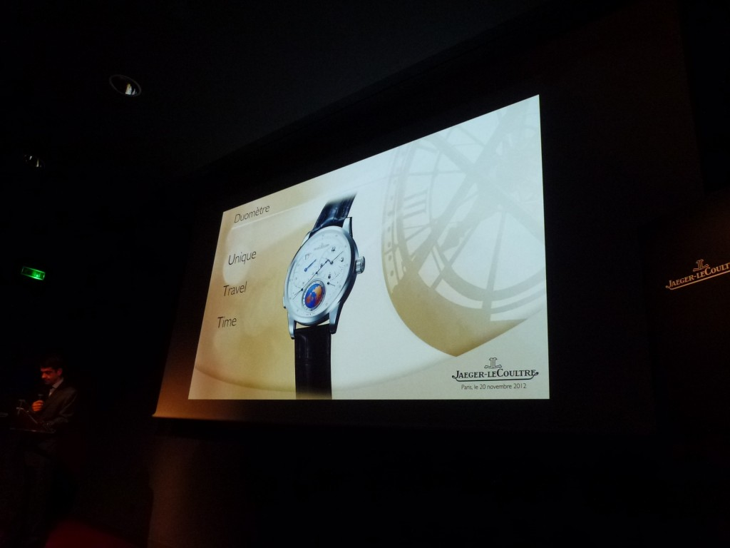 www.watch insider.com | news  | World premiere: Very first pictures of the new Jaeger LeCoultre Duomètre Unique Travel Time  | P1020223 1024x768