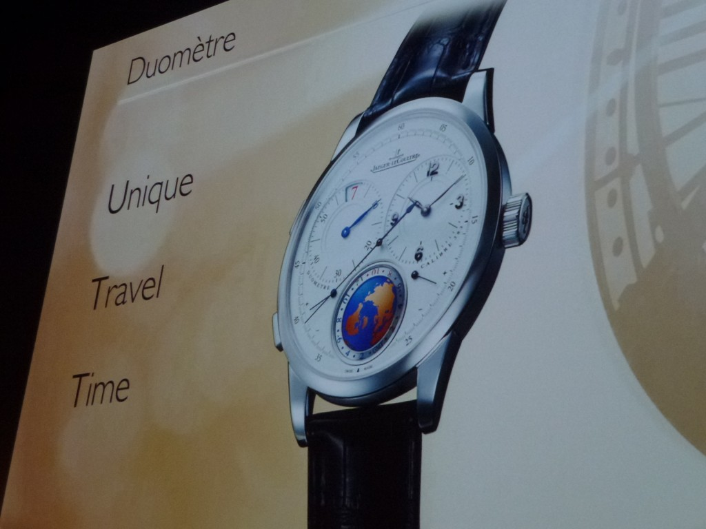 www.watch insider.com | news  | World premiere: Very first pictures of the new Jaeger LeCoultre Duomètre Unique Travel Time  | P1020224 1024x768