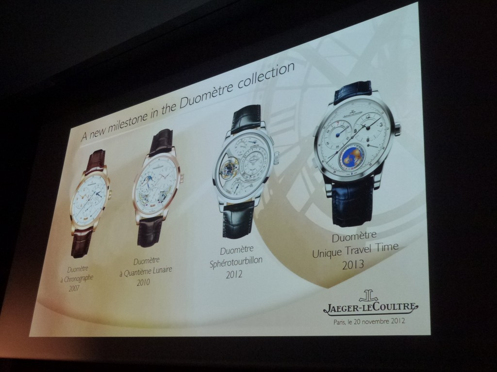 www.watch insider.com | news  | World premiere: Very first pictures of the new Jaeger LeCoultre Duomètre Unique Travel Time  | P1020229 1024x768