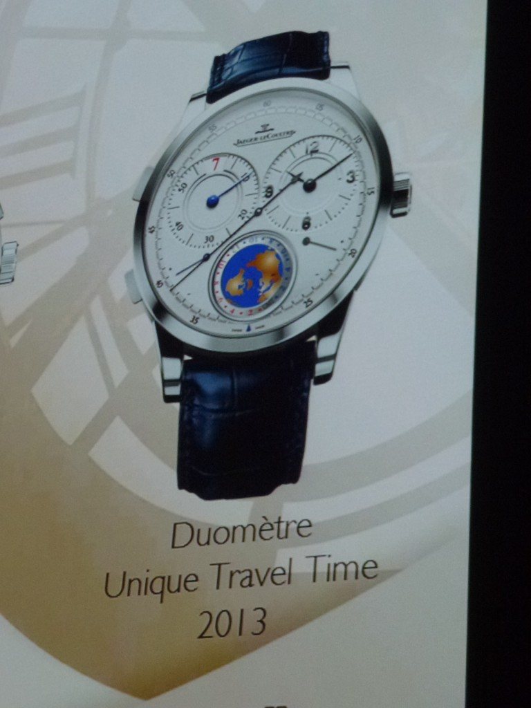 www.watch insider.com | news  | World premiere: Very first pictures of the new Jaeger LeCoultre Duomètre Unique Travel Time  | P1020230 e1353407659471 768x1024