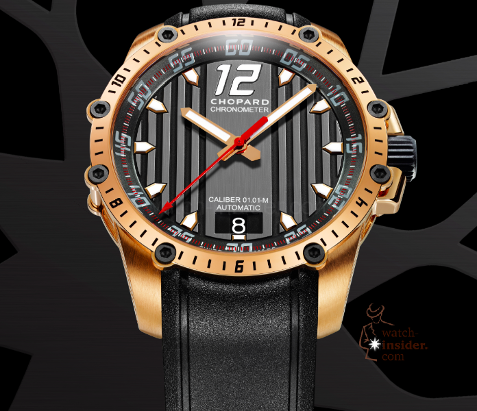 www.watch insider.com | videos reportages interviews  | Chopard Superfast a new milestone in the Classic Racing collection | Superfast Automatic wheel