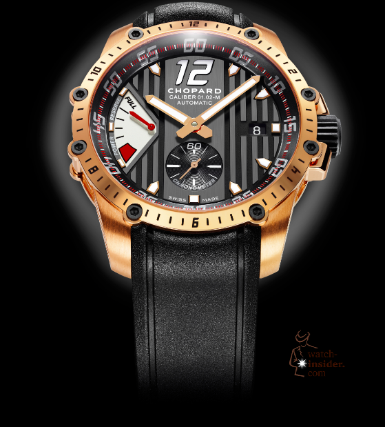 www.watch insider.com | videos reportages interviews  | Chopard Superfast a new milestone in the Classic Racing collection | Superfast Power Control