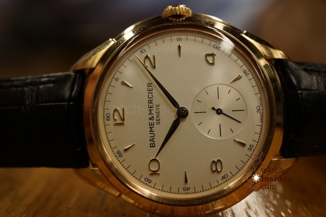 www.watch insider.com | reportages interviews  | Baume & Mercier CEO Alain Zimmermann gives an insight about the relaunch of the historic watch brand | 20121213 233828