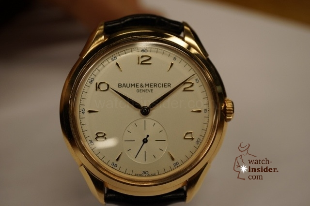 www.watch insider.com | reportages interviews  | Baume & Mercier CEO Alain Zimmermann gives an insight about the relaunch of the historic watch brand | 20121213 234043