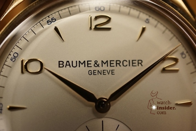 www.watch insider.com | reportages interviews  | Baume & Mercier CEO Alain Zimmermann gives an insight about the relaunch of the historic watch brand | 20121213 234110