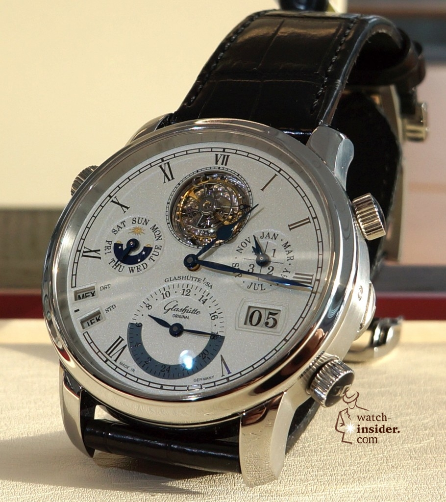 www.watch insider.com | reportages  | Exclusive inside view of the Glashütte Original Grande Cosmopolite Tourbillon | DSC00055 910x1024