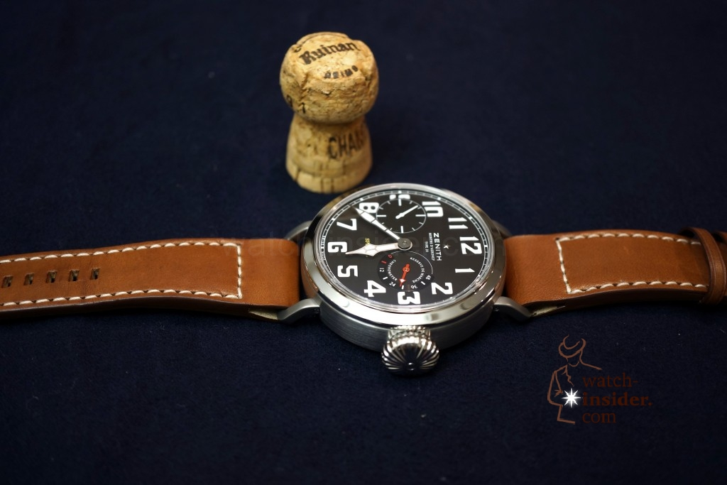 www.watch insider.com | videos reportages  | Hands on the Zenith Pilot Montre d'Aéronef Type 20 | DSC0634 1024x683