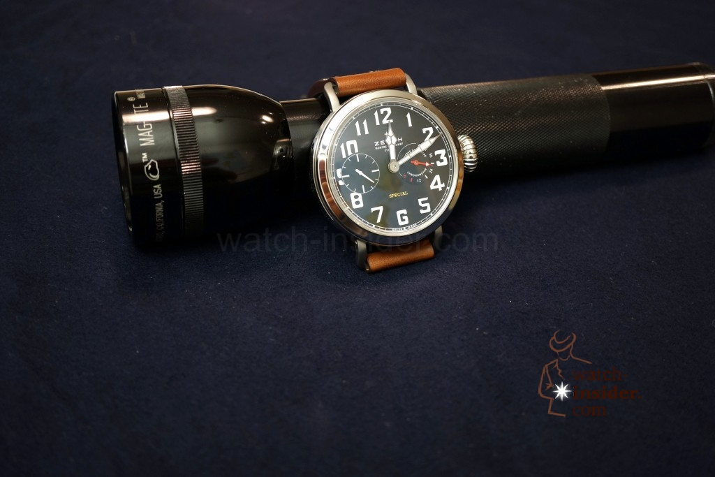 www.watch insider.com | videos reportages  | Hands on the Zenith Pilot Montre d'Aéronef Type 20 | DSC0639 1024x683