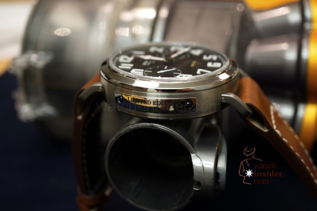 www.watch insider.com | videos reportages  | Hands on the Zenith Pilot Montre d'Aéronef Type 20 | DSC0646 1024x683