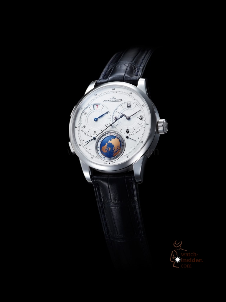 www.watch insider.com | news  | First Salon International de la Haute Horlogerie Geneva (SIHH) 2013 novelties compilation | Jaeger LeCoultre Duometre Unique Travel Time 767x1024