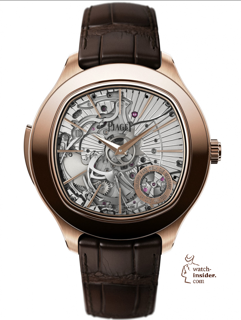 www.watch insider.com | news  | First Salon International de la Haute Horlogerie Geneva (SIHH) 2013 novelties compilation | Piaget Emperador Coussin XL Minute Repeater 772x1024