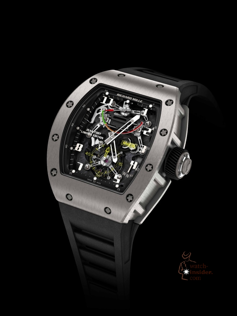 www.watch insider.com | news  | First Salon International de la Haute Horlogerie Geneva (SIHH) 2013 novelties compilation | Richard Mille RM362 768x1024