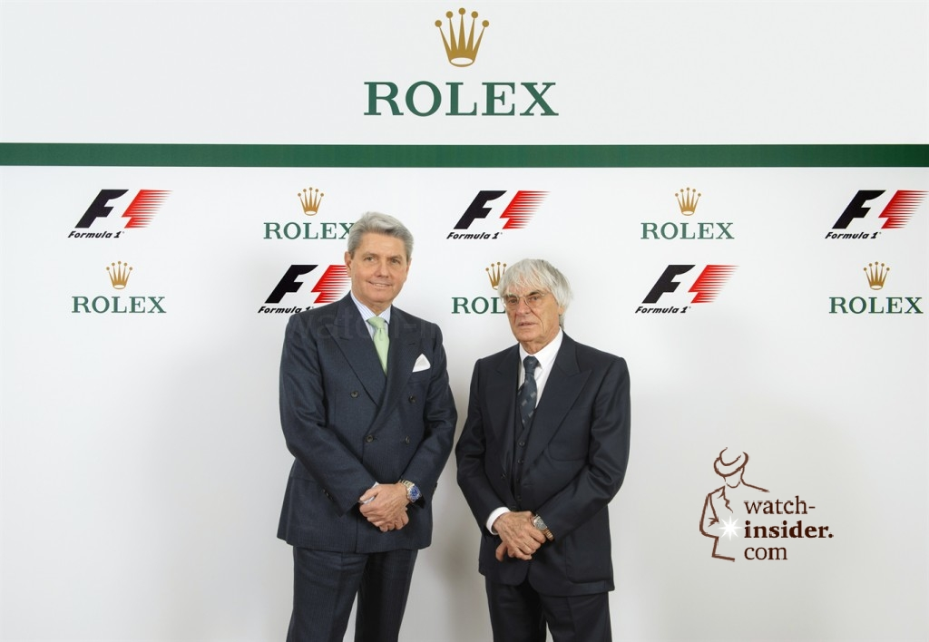 www.watch insider.com | news  | Some interesting details about the new Rolex global partnership with Formula 1 | Rolex F1 02 1024x708