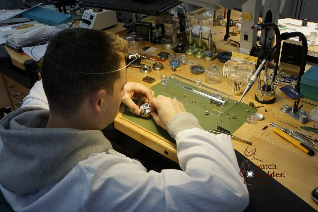 "… This watchmaker was working on the Zenith complication ""Christophe Colomb"". In fact he was testing new-implemented features that make the watch even more accurate …"
