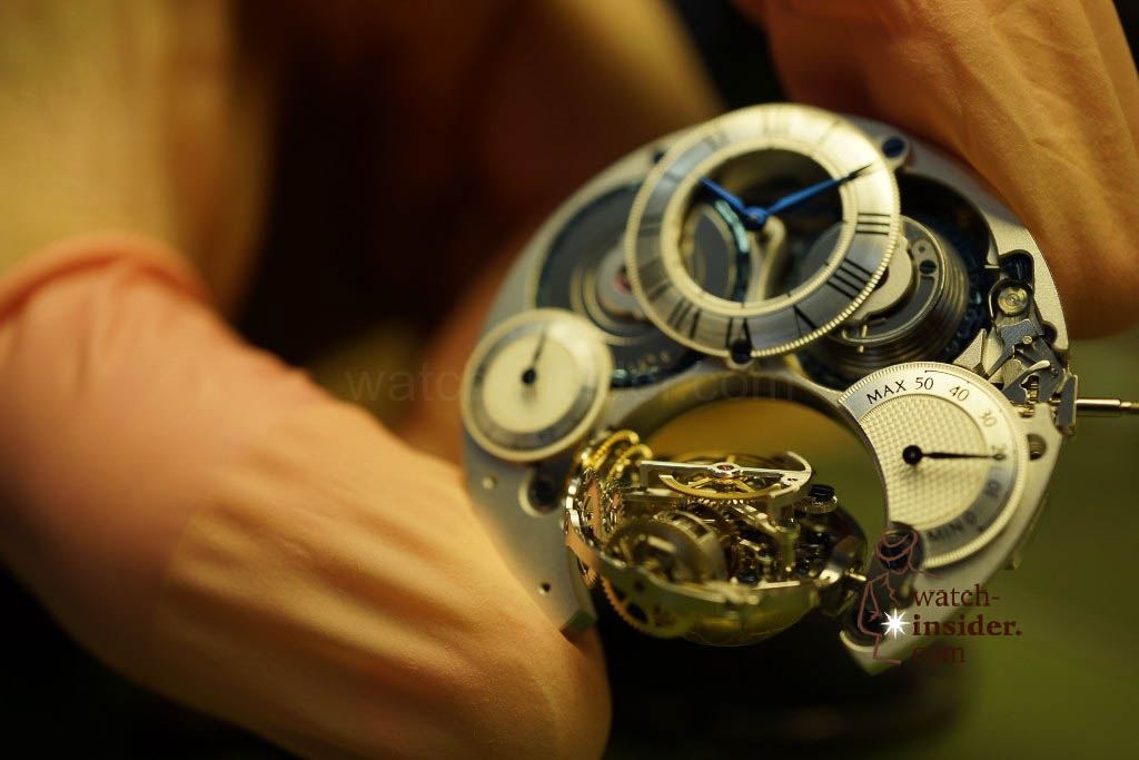 www.watch insider.com | reportages  | My insight view of Zenith ... Part 10 of 11 … Follow me on a tour through the Manufacture in Le Locle | 04 Zenith Ebauche 10 1024x683