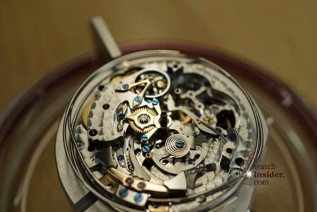 … another watchmaker was assembling a minute repeater …