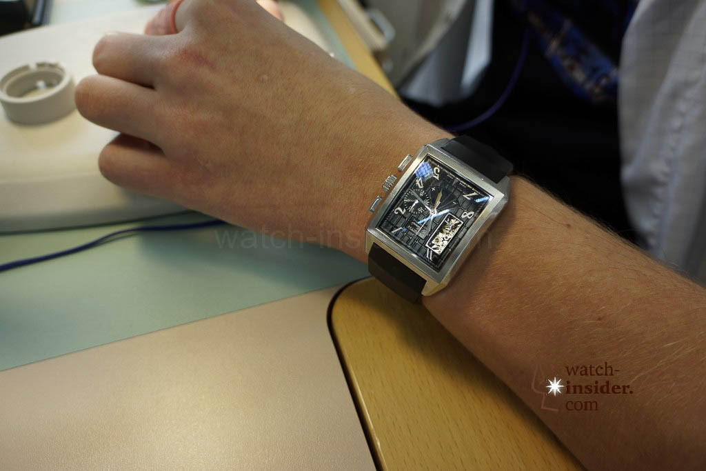 … employees not only assemble Zenith watches they also wear them …