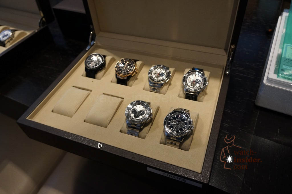 ... a part of the watch collection of Zenith ...