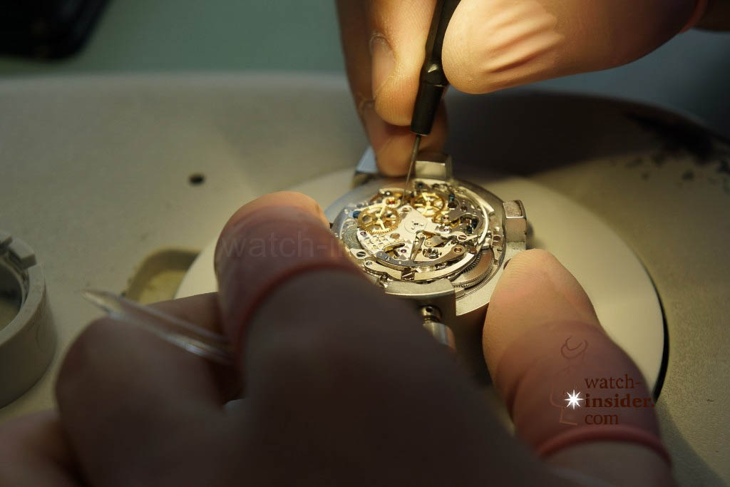 www.watch insider.com | reportages  | My insight view of Zenith ... Part 6 of 11 … Follow me on a tour through the Manufacture in Le Locle | 15 Zenith Ebauche 6 1024x683