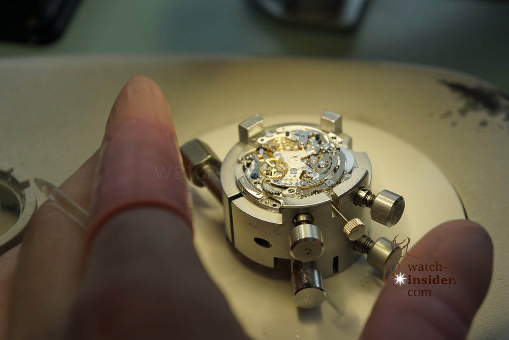 www.watch insider.com | reportages  | My insight view of Zenith ... Part 6 of 11 … Follow me on a tour through the Manufacture in Le Locle | 16 Zenith Ebauche 6 1024x683