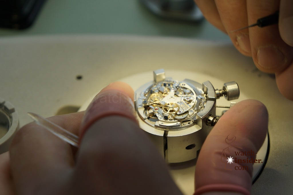 www.watch insider.com | reportages  | My insight view of Zenith ... Part 6 of 11 … Follow me on a tour through the Manufacture in Le Locle | 17 Zenith Ebauche 6 1024x683