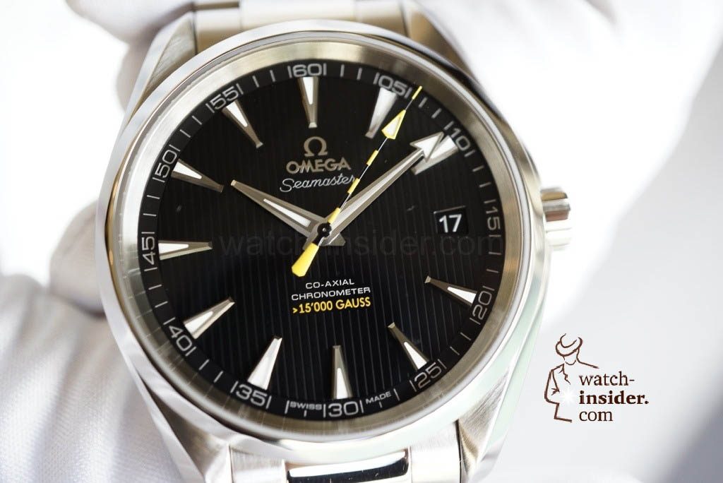 www.watch insider.com | news  | Exclusive from Geneva: The Omega Seamaster Aqua Terra total antimagnetic watch | 20130117 150117