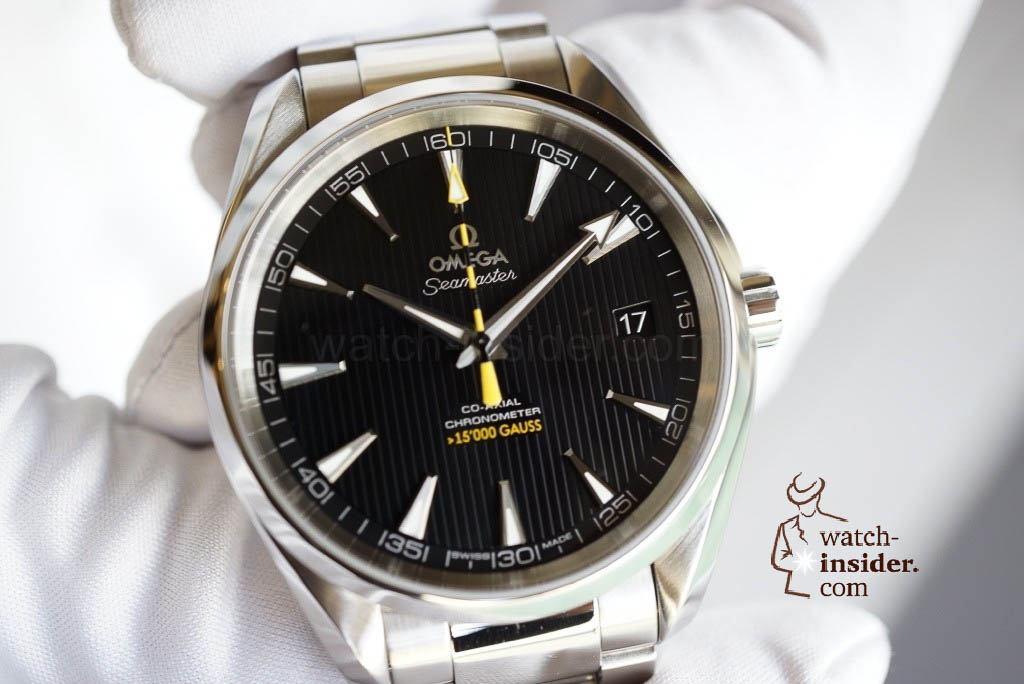 www.watch insider.com | videos reportages news  | Now the full story... The Omega Seamaster Aqua Terra antimagnetic wristwatch | 20130117 191551