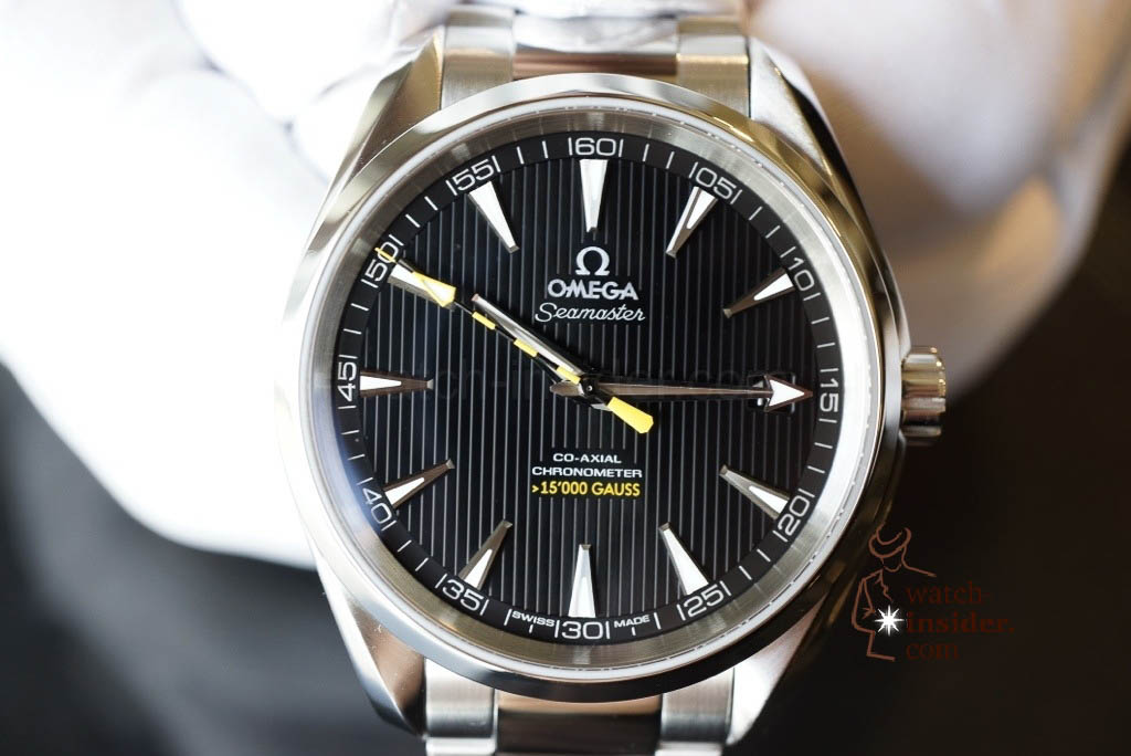 www.watch insider.com | videos reportages news  | Now the full story... The Omega Seamaster Aqua Terra antimagnetic wristwatch | 20130117 191815