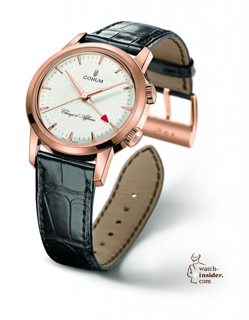 www.watch insider.com | news  | Corum Chargé d'Affaires the return of a wirst watch legend | 286.253.55 0001 BA57 PR high 797x1024