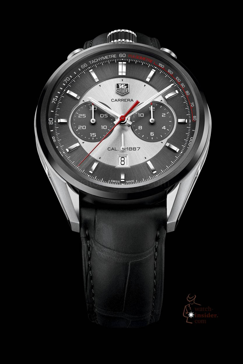 in geneva tag heuer presented the lightweight carrera carbon calibre 1887 concept chronograph. Black Bedroom Furniture Sets. Home Design Ideas