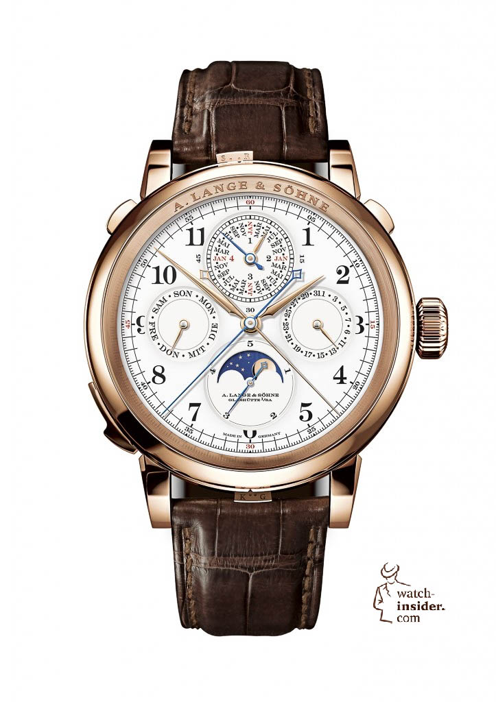 www.watch insider.com | reportages news  | Wilhelm Schmid, CEO of A. Lange & Shne presented me his novelties at SIHH 2013 | ALS 912 032 FS 723x1024
