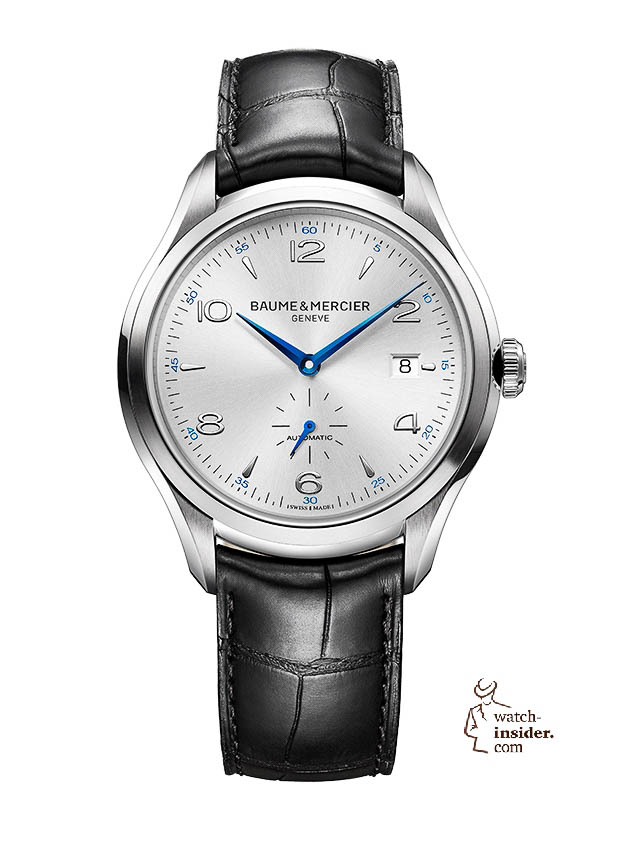 www.watch insider.com | news  | Baume & Mercier presented Clifton at the SIHH 2013 in Geneva | BAUME ET MERCIER CLIFTON 10052 SOLDAT