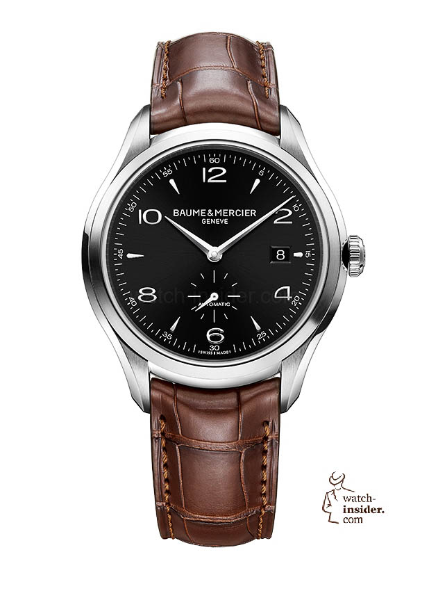 www.watch insider.com | news  | Baume & Mercier presented Clifton at the SIHH 2013 in Geneva | BAUME ET MERCIER CLIFTON 10053 SOLDAT