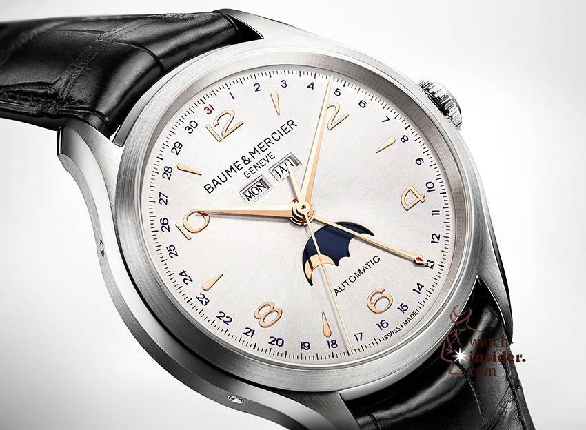 www.watch insider.com | news  | Baume & Mercier presented Clifton at the SIHH 2013 in Geneva | BAUME ET MERCIER CLIFTON 10055 FOCUS 1