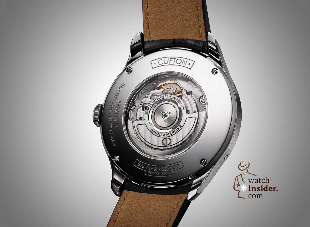 www.watch insider.com | news  | Baume & Mercier presented Clifton at the SIHH 2013 in Geneva | BAUME ET MERCIER CLIFTON 10055 FOCUS 2 1024x750