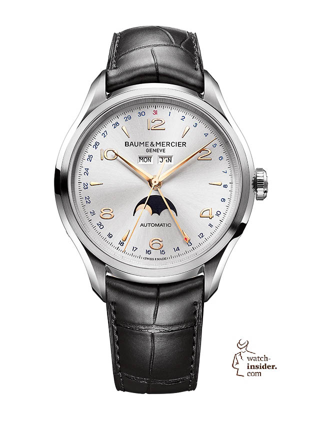 www.watch insider.com | news  | Baume & Mercier presented Clifton at the SIHH 2013 in Geneva | BAUME ET MERCIER CLIFTON 10055 SOLDAT