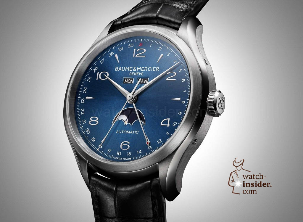 www.watch insider.com | news  | Baume & Mercier presented Clifton at the SIHH 2013 in Geneva | BAUME ET MERCIER CLIFTON 10057 FOCUS 1024x750