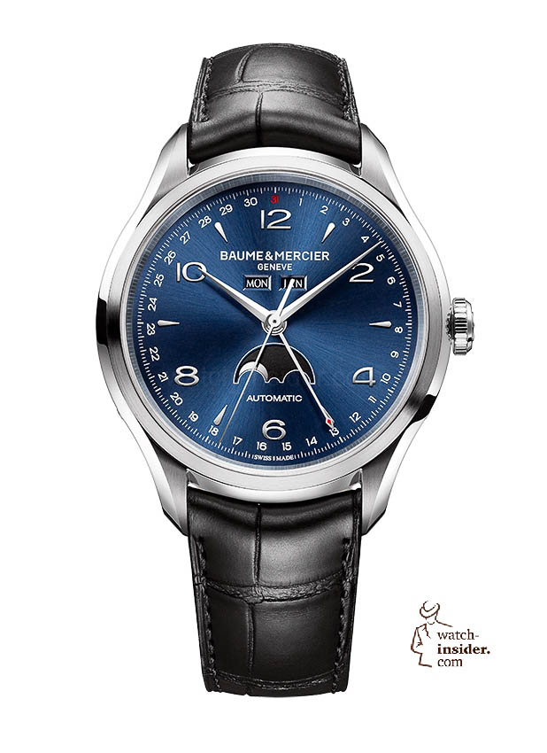 www.watch insider.com | news  | Baume & Mercier presented Clifton at the SIHH 2013 in Geneva | BAUME ET MERCIER CLIFTON 10057 SOLDAT