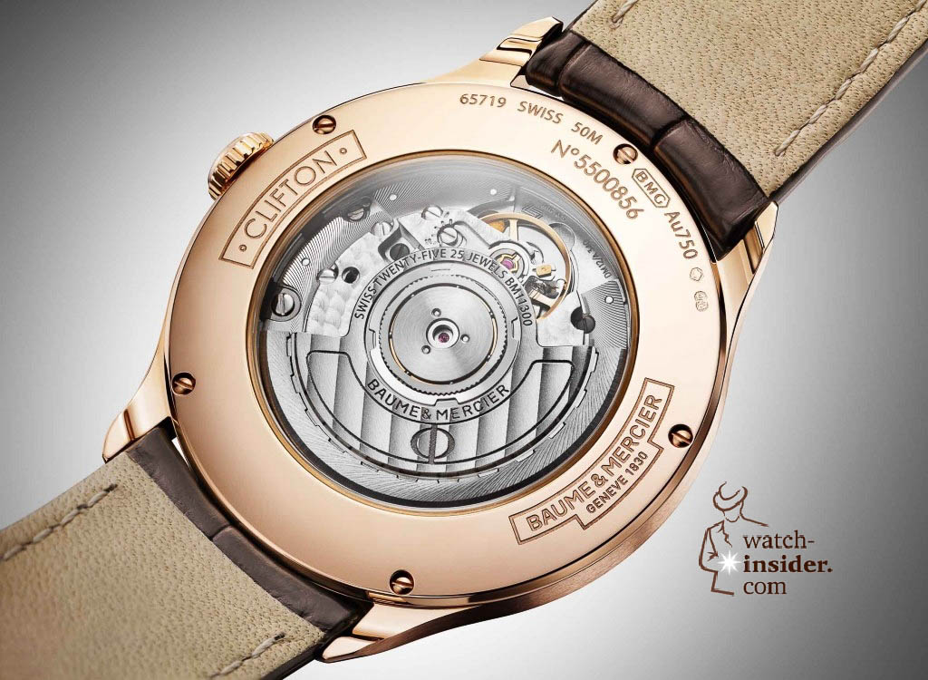 www.watch insider.com | news  | Baume & Mercier presented Clifton at the SIHH 2013 in Geneva | BAUME ET MERCIER CLIFTON 10058 FOCUS 1024x750