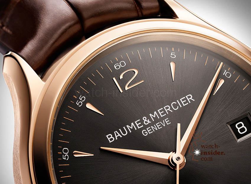 www.watch insider.com | news  | Baume & Mercier presented Clifton at the SIHH 2013 in Geneva | BAUME ET MERCIER CLIFTON 10059 FOCUS