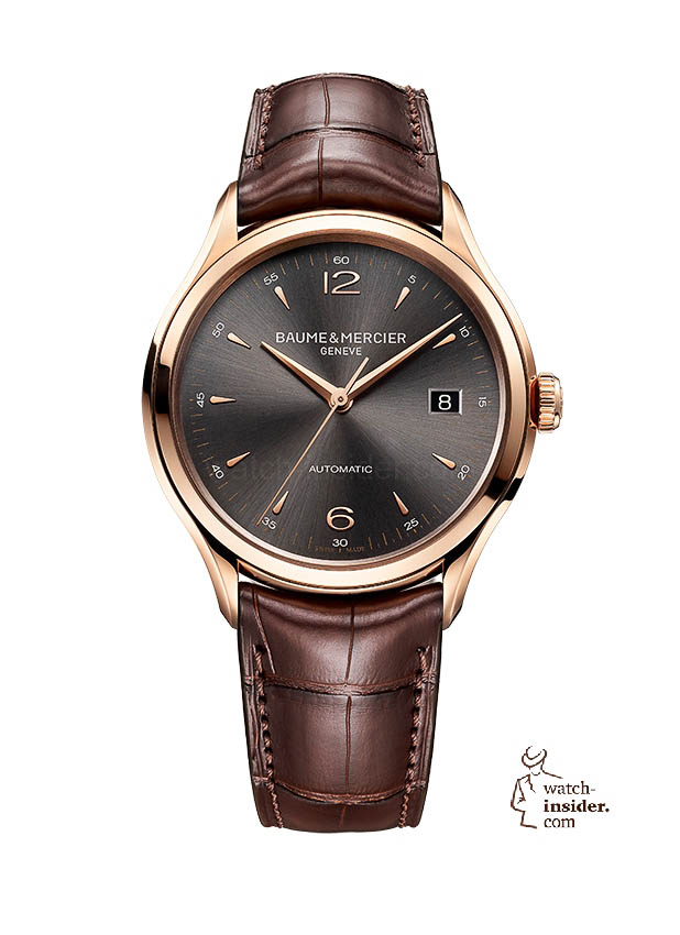 www.watch insider.com | news  | Baume & Mercier presented Clifton at the SIHH 2013 in Geneva | BAUME ET MERCIER CLIFTON 10059 SOLDAT