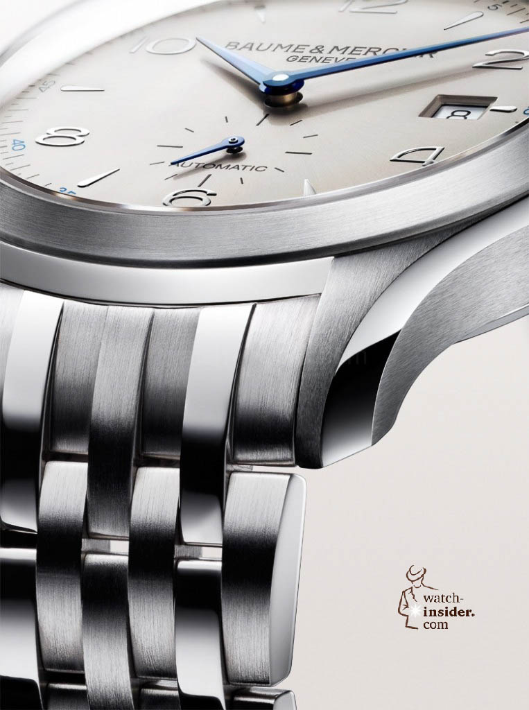 www.watch insider.com | news  | Baume & Mercier presented Clifton at the SIHH 2013 in Geneva | BAUME ET MERCIER CLIFTON 10099 FOCUS 763x1024