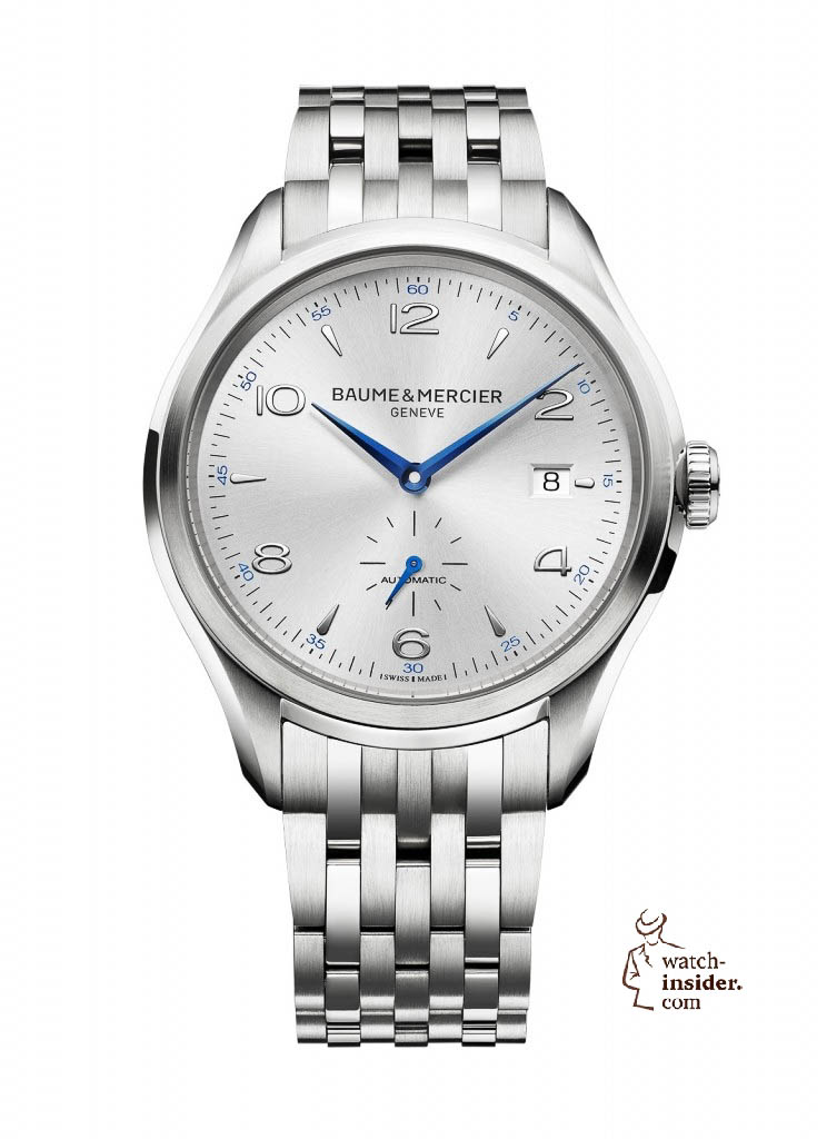 www.watch insider.com | news  | Baume & Mercier presented Clifton at the SIHH 2013 in Geneva | BAUME ET MERCIER CLIFTON 10099 SOLDAT 744x1024