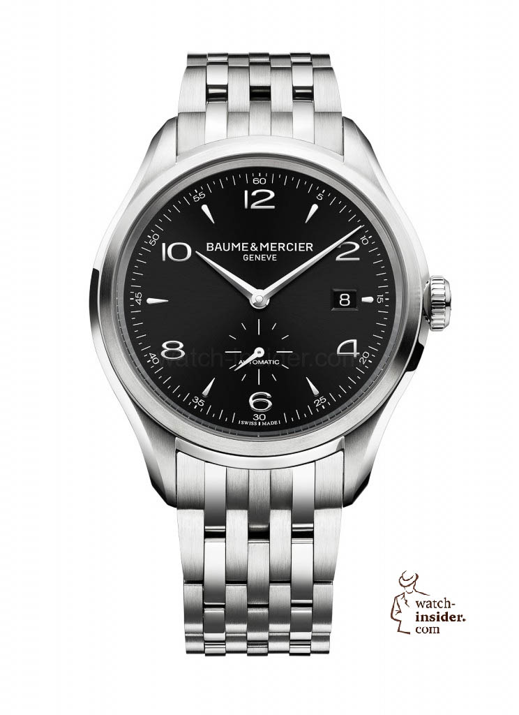 www.watch insider.com | news  | Baume & Mercier presented Clifton at the SIHH 2013 in Geneva | BAUME ET MERCIER CLIFTON 10100 SOLDAT 744x1024